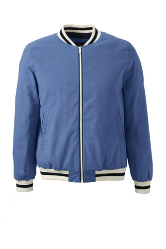 Men's Tailored Oxford Varsity Jacket