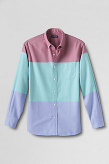 Men's Multi Stripe Sail Rigger Oxford Shirt Tailored Fit