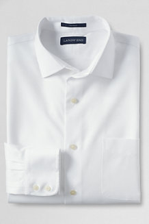 Men's Easy-iron Spread Collar Comfort Pinpoint Shirt