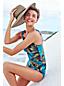 Women's Straw Braid Belted Floppy Sun Hat