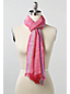 Women's Stripe Tipped Scarf