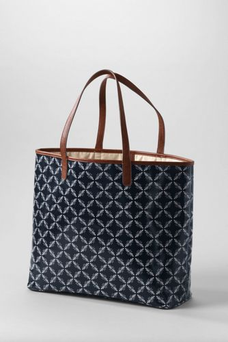 Women's Coated Canvas Large Shopper