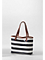 Women's Coated Canvas Small Shopper