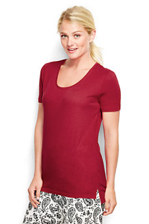 Women's Cotton/Modal Short Sleeve Pyjama Top