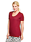 Women's Regular Cotton/Modal Short Sleeve Pyjama Top