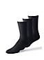 Men's Ribbed Cotton-rich Socks, 3-pack