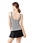 Women's Regular Shape and Enhance Wrap Tankini Top