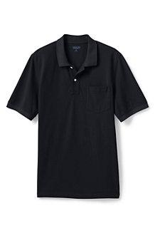 メンズ・ヘリテージ・ポロ/無地/ポケット付き/半袖