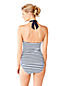 Beach Living Neckholder-Tankini-Top Gestreift