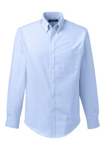 Men S Oxford Dress Shirt From Lands End