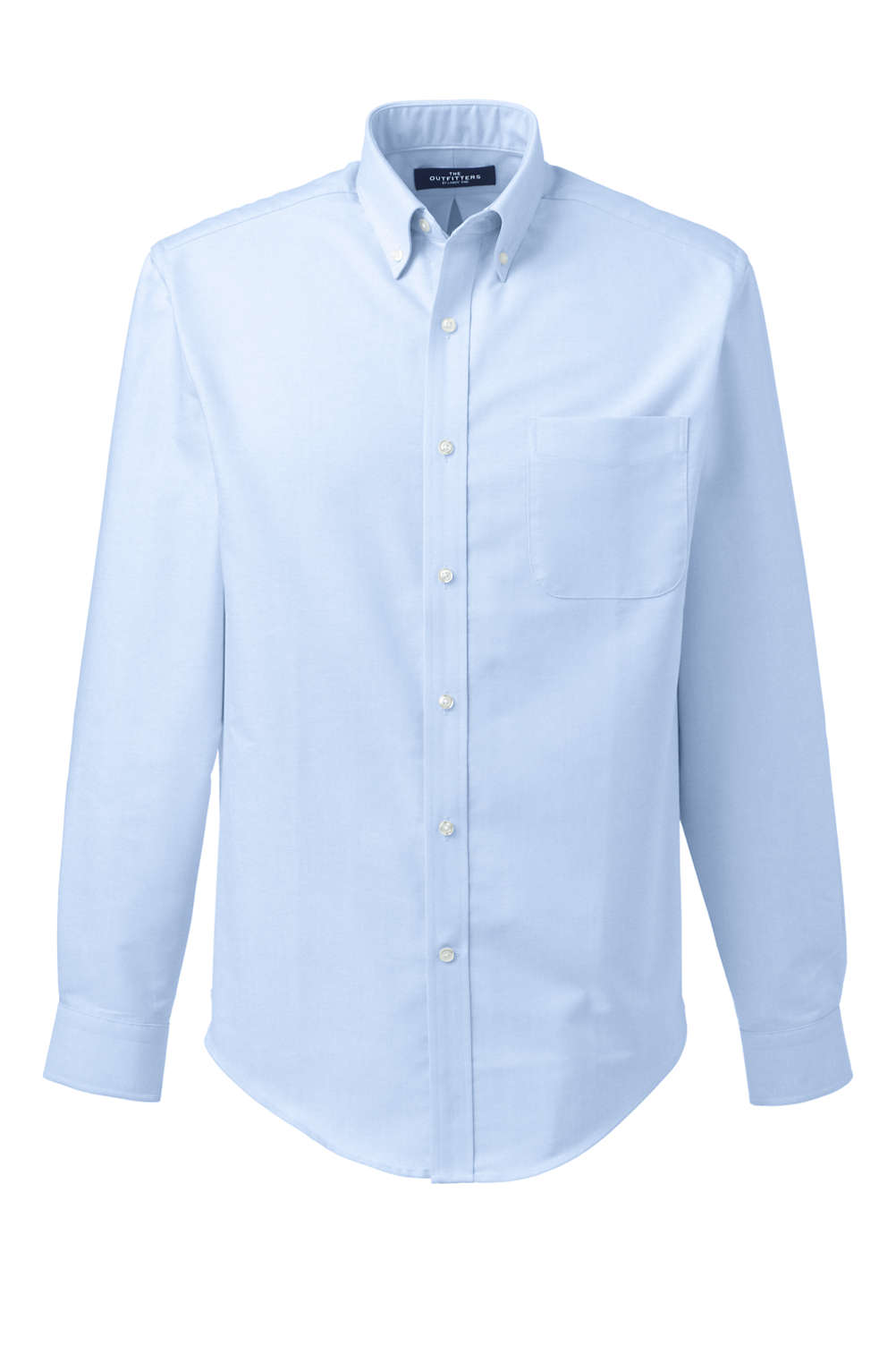 School Uniform Mens Tailored Fit Long Sleeve Buttondown Oxford