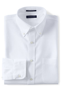 Men's Slim Fit Easy-iron Button-down Supima Oxford Shirt