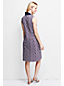 Women's Regular Sleeveless Pattern Polo Dress