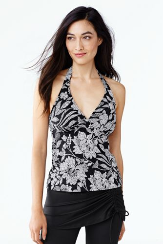 Beach Living Neckholder-Tankini-Top Kunstdruck