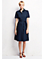 Women's Regular Short Sleeve Broderie Anglaise Shirtdress