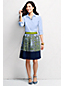 Women's Regular Pleated Patterned Skirt