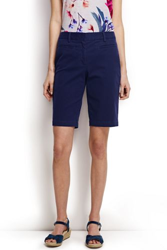 Le Bermuda Stretch Coupe 2 Femme, Taille Standard