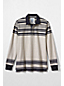 Men's Regular Striped Rugby Shirt