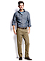 Men's Regular Slim Fit Shipyard Chambray Shirt