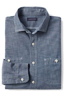 Men's Traditional Fit Shipyard Chambray Shirt
