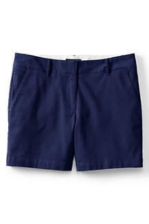 Women's  Low Rise Chino Shorts