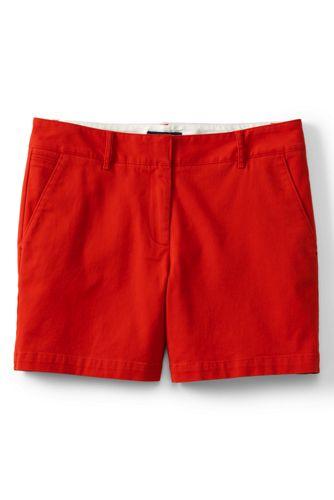"""Women's Low Rise 5"""" Chino Shorts"""