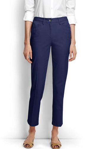 Des Femmes De Petite Taille Normale Chino Extensible Recadrée Pantalon - 8 - Terres Bleues Se Terminent jKxwQrKgbY
