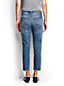 Women's Plus Mid Rise Slim Leg Cropped Jeans