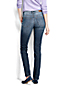 Women's Plus Mid Rise Slim Fit Medium Wash Jeans