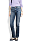 Women's Mid Rise Slim Fit Medium Wash Jeans