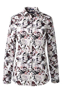 Women's Patterned Supima® Non Iron Shirt
