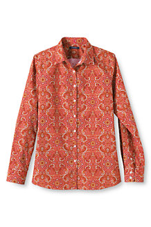 Women's Patterned Supima® Non Iron Shirt