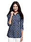 Women's Regular Patterned Non Iron Tunic