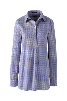 Women's  Patterned Non Iron Tunic
