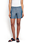 Women's Regular Low Rise Chambray Shorts