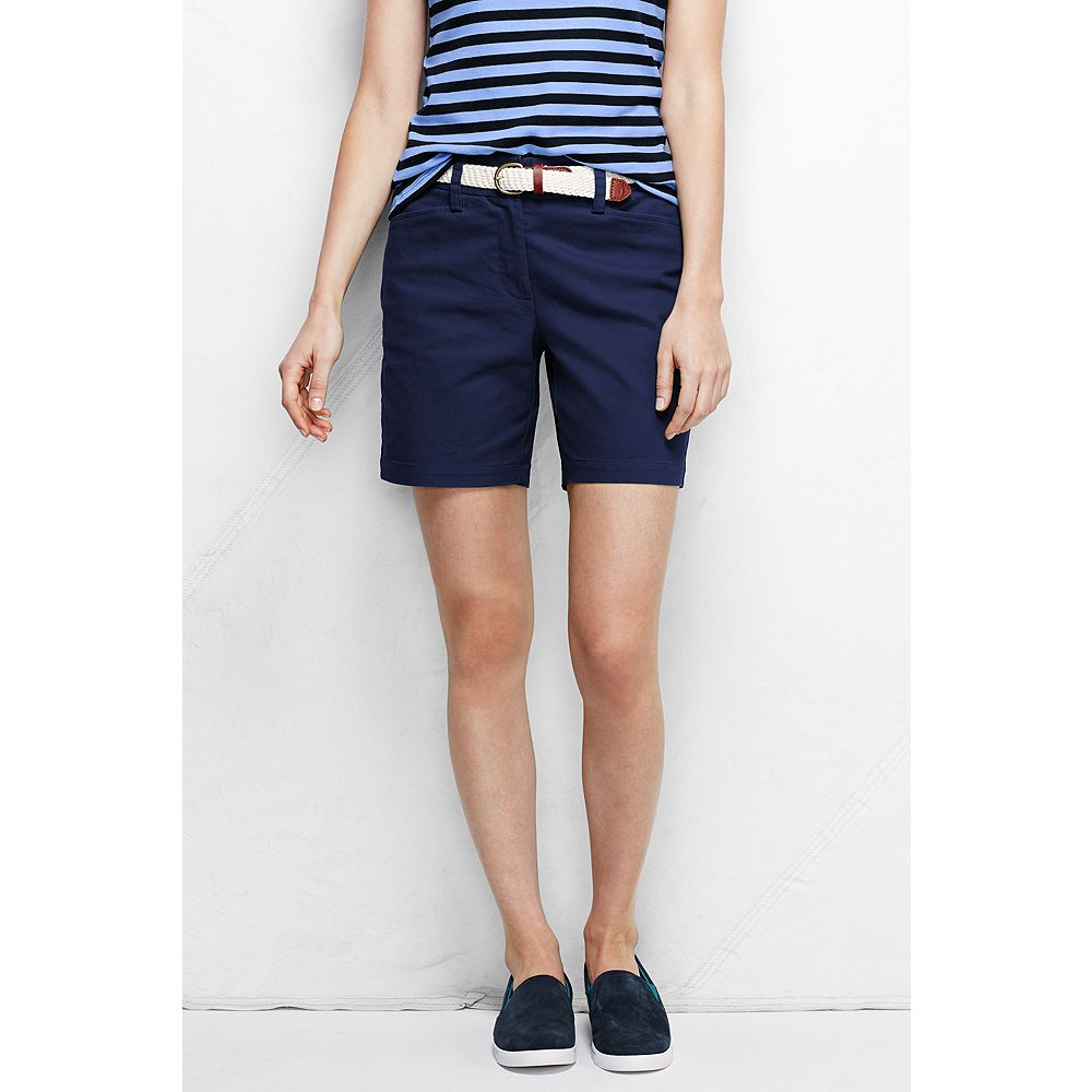 "Lands' End Women's Fit 2 7"" Chino Shorts at Sears.com"