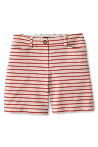 Gemusterte Chino-Shorts