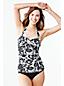 Le Haut de Tankini Bandeau Floral Silhouette Femme, Taille Standard