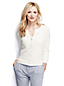 Women's Regular Lace Front Cotton Zip Cardigan
