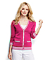 Women's Regular Tipped Cotton V-Neck Cardigan