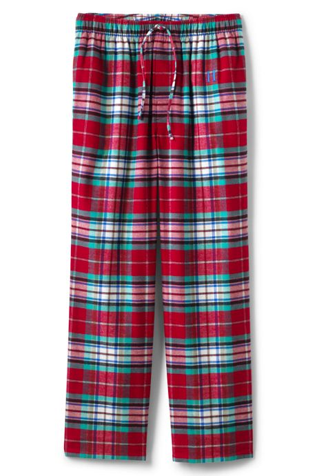 Men's Big Flannel Pajama Pants
