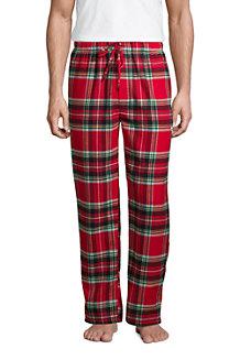 Le Pantalon de Pyjama en Flanelle Coupe Traditionnelle Homme