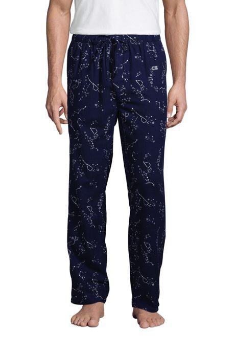 Men's Tall Flannel Pajama Pants