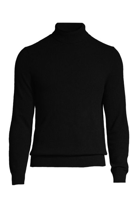 Men's Fine Gauge Cashmere Turtleneck Sweater