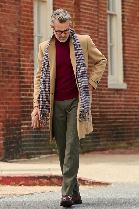 Men's Fine Gauge Cashmere Turtleneck Sweater