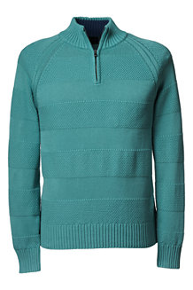 Men's   Drifter™ Textured Stripe Zip Neck