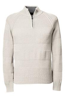 Men's   Drifter™ Textured Stripe Zip Neck