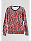 Women's Regular Supima® Paisley Print Cardigan