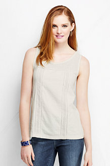 Le T-shirt Broderie Anglaise Femme