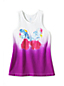 Little Girls' Novelty Graphic Racerback Knit Vest Top